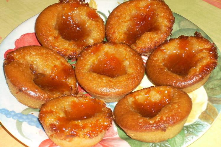Muffins gourmands à la marmelade d'abricots
