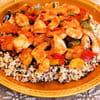 23 poelee aux legumes fondants quinoa et crevettes marie jose skrypczak300