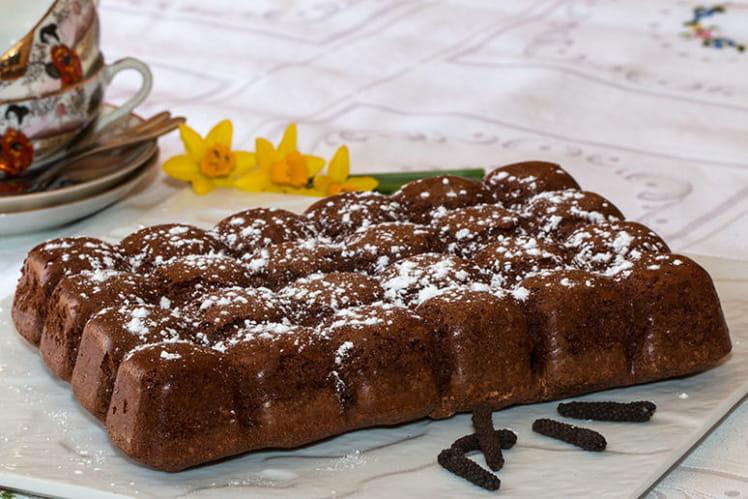 Moelleux au chocolat au poivre long de Java