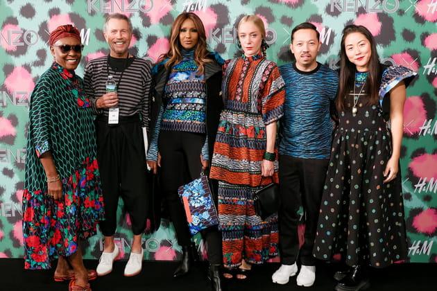 Défilé de stars à New York pour Kenzo X H&M