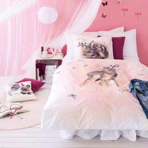 linge de lit fille d'h&m home
