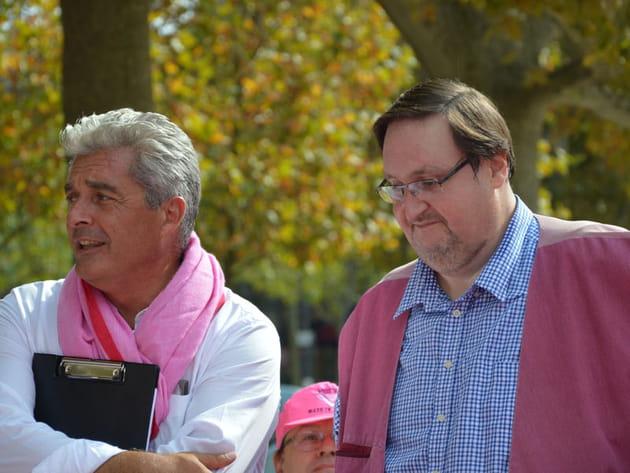 Philippe Conticini et Thierry Teyssier