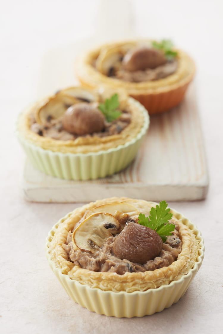 Recette de tartelettes croustillantes la pur e de - Cuisiner des marrons en boite ...