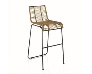 chaise haute de bar zeta d'alinéa