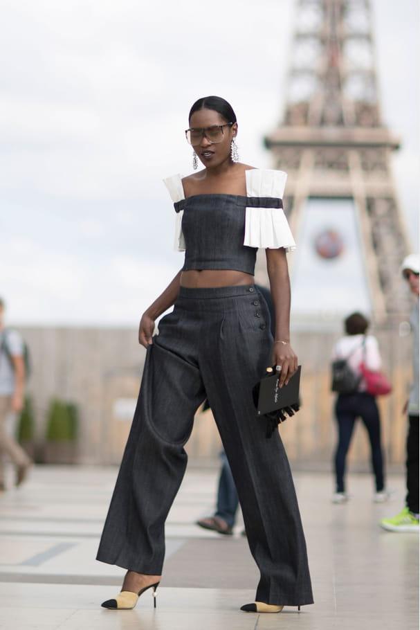 Street style à Paris : les manches osées