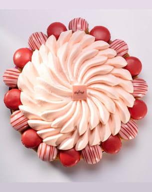 lady saint-honoré fraise-yuzu de lenôtre