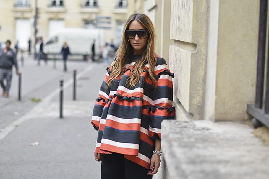 Le look blogueuse de la semaine: Elisa Taviti à plein volume
