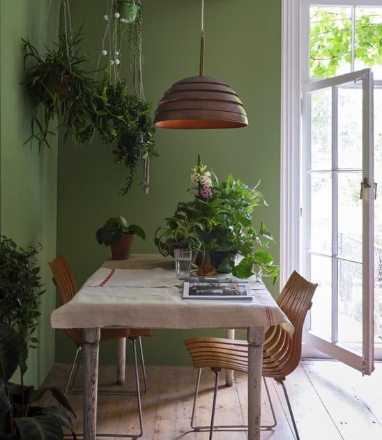 Entre vert kaki & bois