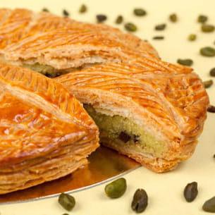 galette chocolat-pistache d'eric kayzer