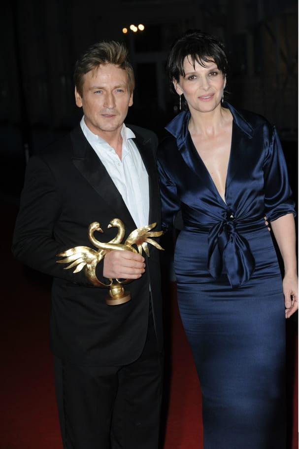 Benoît Magimel et Juliette Binoche