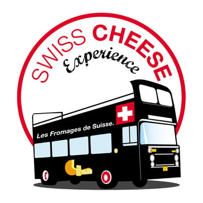logo swiss cheese experience def exe