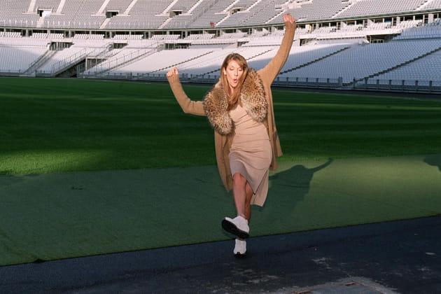 """All by myself"" au Stade de France"