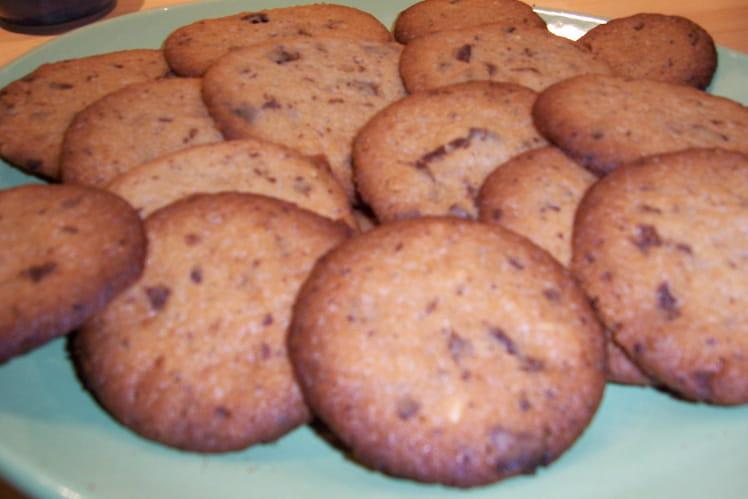 Cookies chocolat /noisette