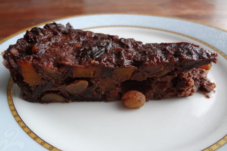 Gâteau au chocolat et à la courge