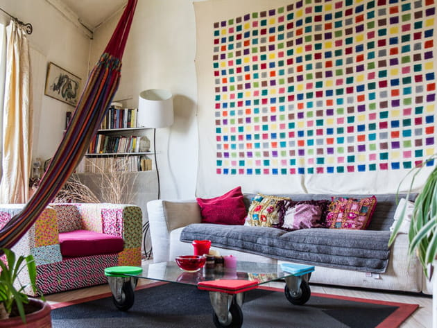 Salon aux notes colorées