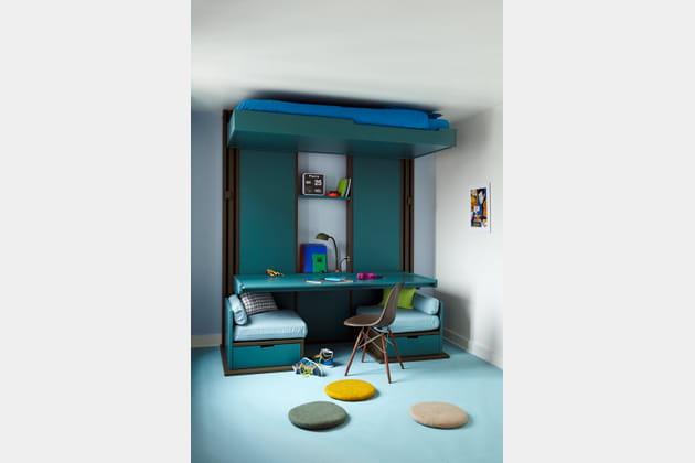 Lit Triptyque par Guillaume Parent pour Espace Loggia