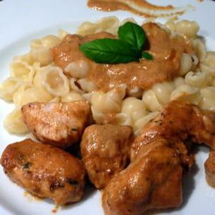 poulet aux saveurs de l'italie