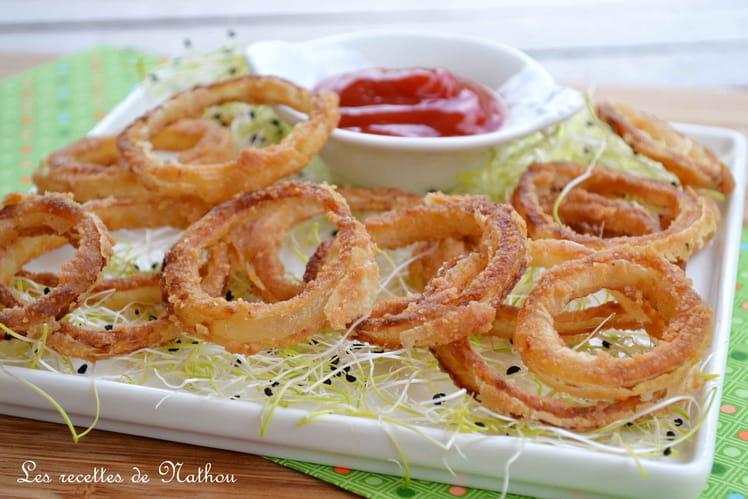 Oignons frits au paprika fumé (Onion rings)