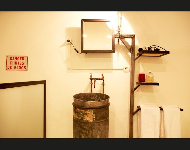 Salle de bains en hauteur