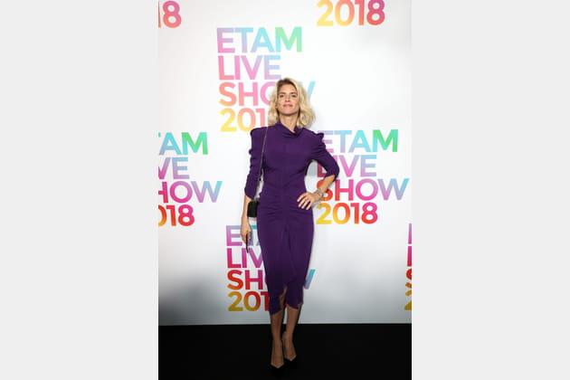 Alice Taglioni au défilé Etam