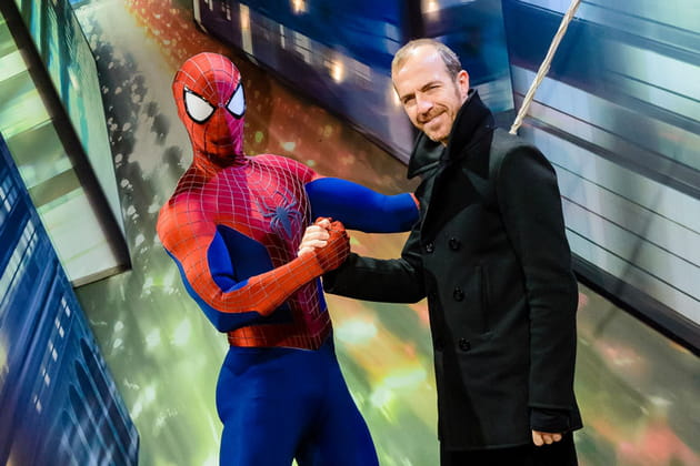 Calogero et Spider Man