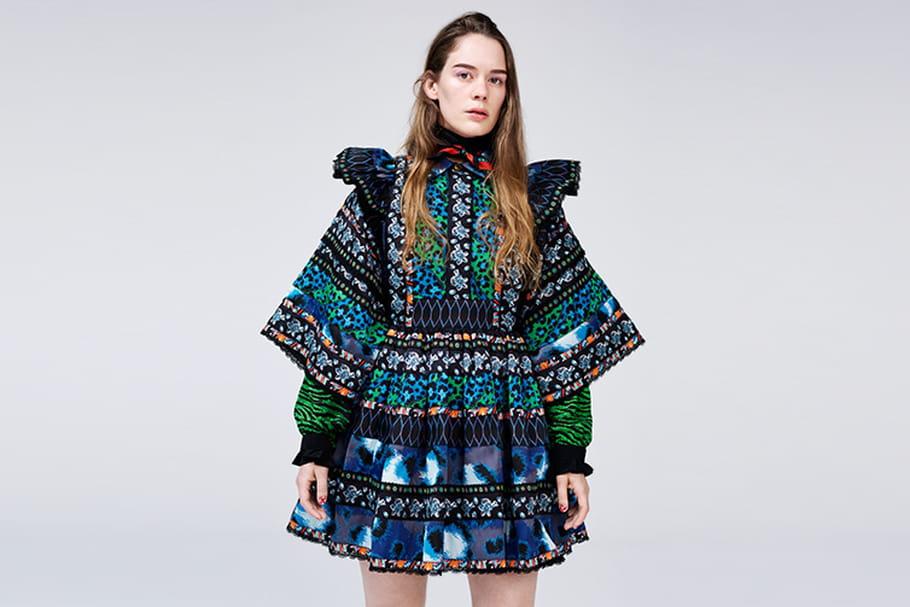 Kenzo X H&M, une première robe pour la capsule