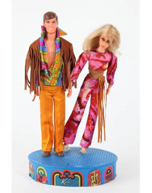 ken et barbie en 1971