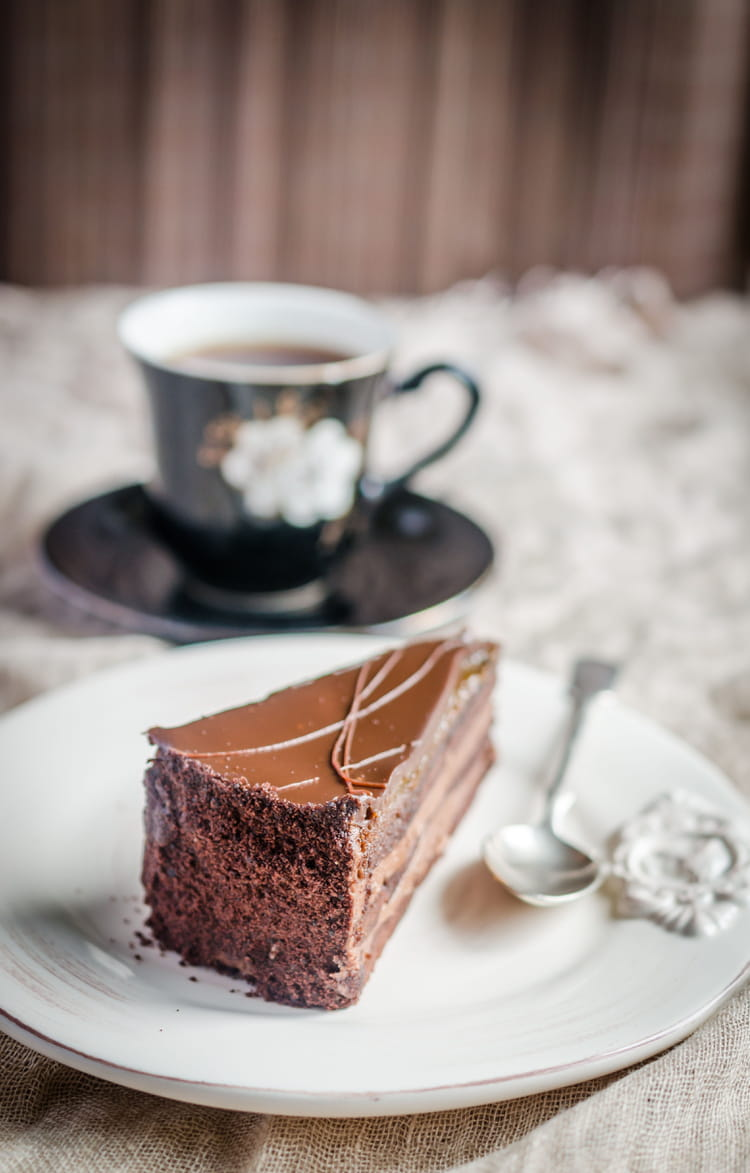 Recette de Glacer un gâteau au chocolat