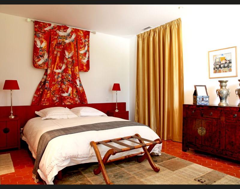 Tête de lit chinoise