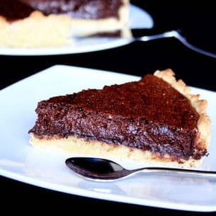 mousse au chocolat en tarte