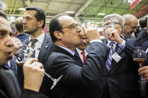 François Hollande a bu la tasse