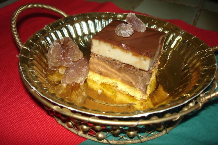 Croustifondant choco-marron