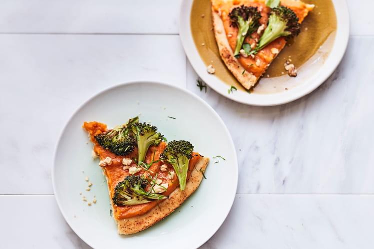 Tarte broconut-brocoli et butternut
