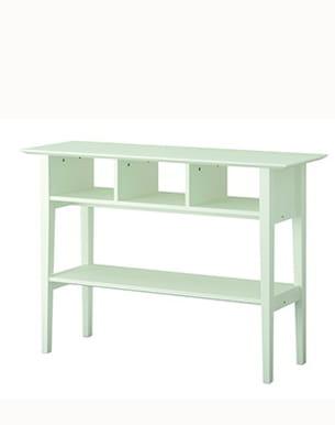 ma console en blanc. Black Bedroom Furniture Sets. Home Design Ideas