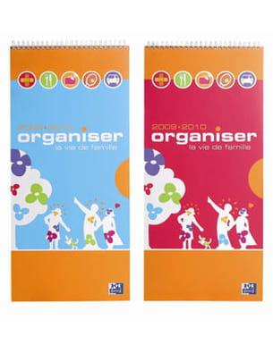 agenda 'organiser la vie de famille' d'oxford