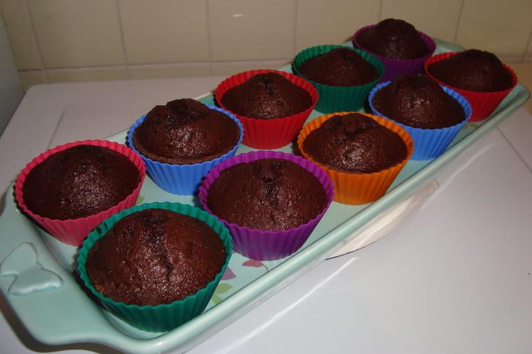 Muffins coeur choco