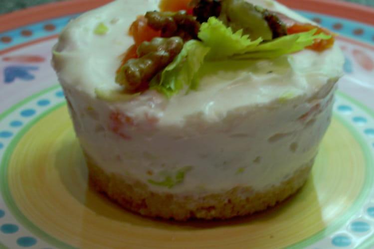 Petits cheesecakes au saumon