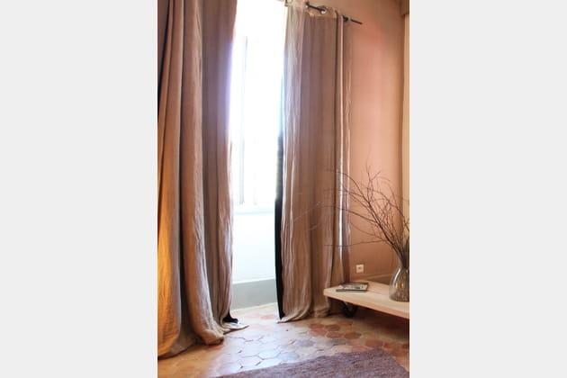Des rideaux opaques