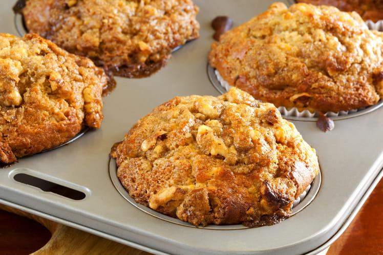 Petits muffins légers aux noix