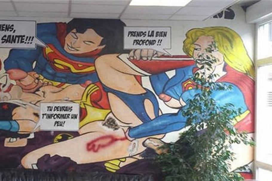 Marisol Touraine condamne la fresque mimant un viol collectif au CHU de Clermont-Ferrand