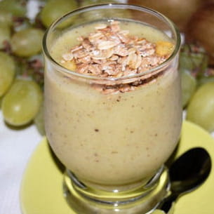 smoothie raisins-kiwis