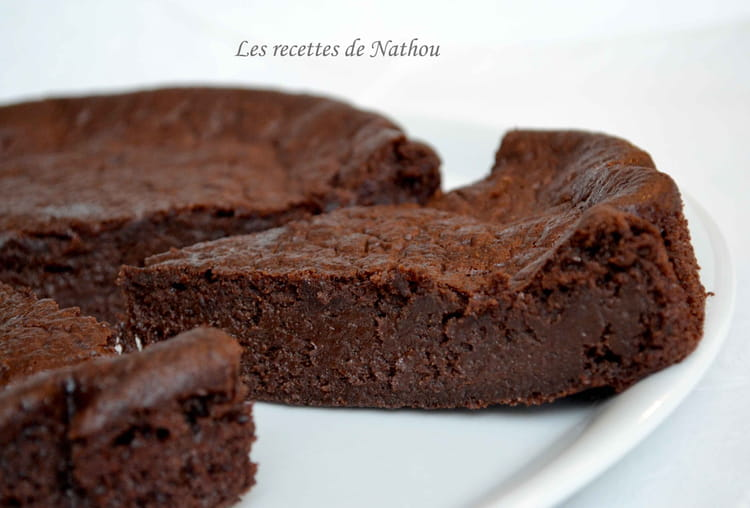 Recette De Moelleux Fondant Au Chocolat Noir Et A La Banane La