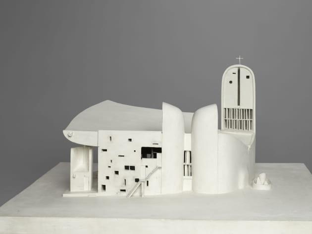 Maquette de la chapelle Notre-Dame-du-Haut, Le Corbusier