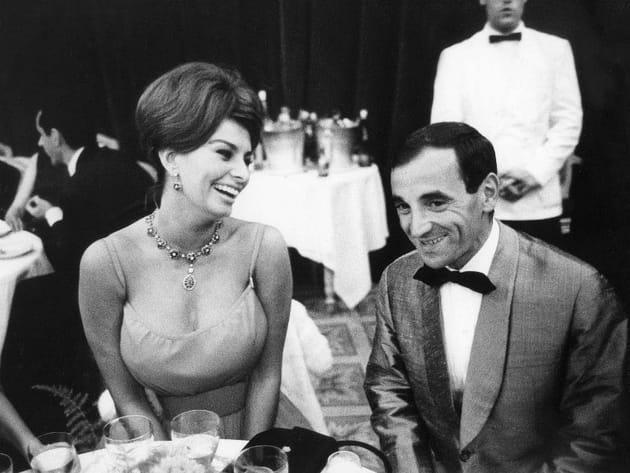 Charles Aznavour au Festival de Cannes