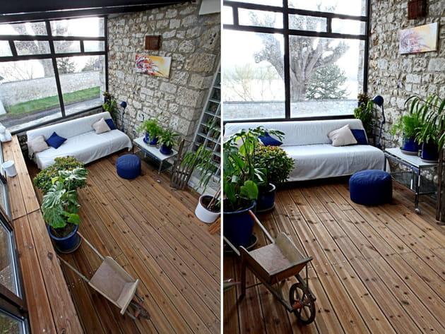 trio verre bois pierre. Black Bedroom Furniture Sets. Home Design Ideas