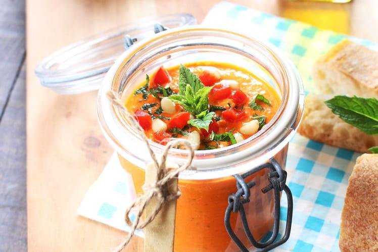 Tartinade grecque Ktipiti, aux poivrons, yaourt grec et feta