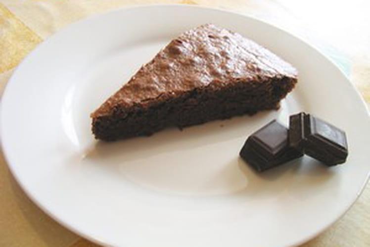 Moelleux au chocolat et son craquant au caramel