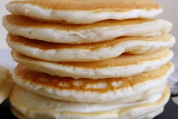Pancakes vegan moelleux