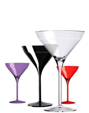 les verres à martini 'beach' d'italesse