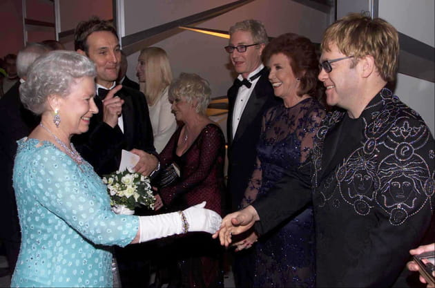 Avec Sir Elton John